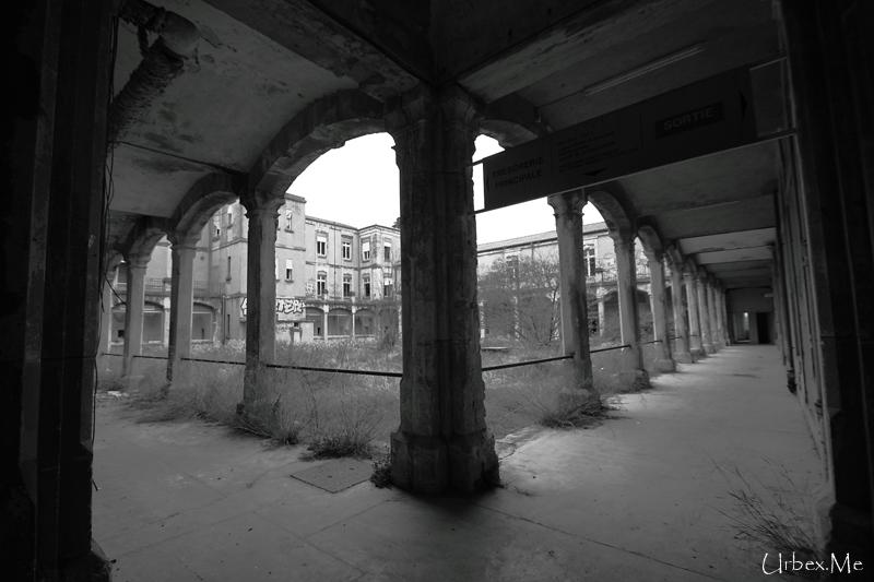 L h pital du sud urbex me reportages exploration urbaine - Hopital porte du sud venissieux ...