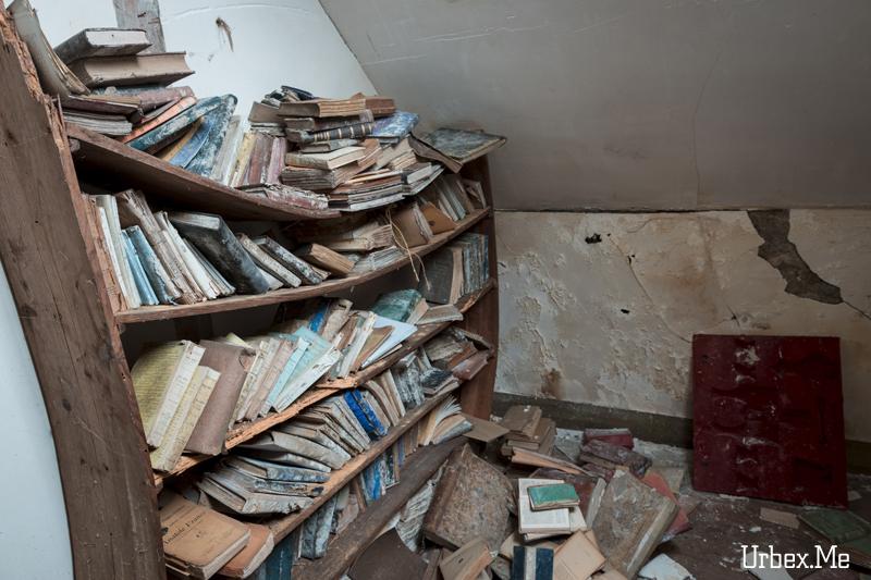 Manoir Aux Livres Urbex Me Reportages Exploration Urbaine